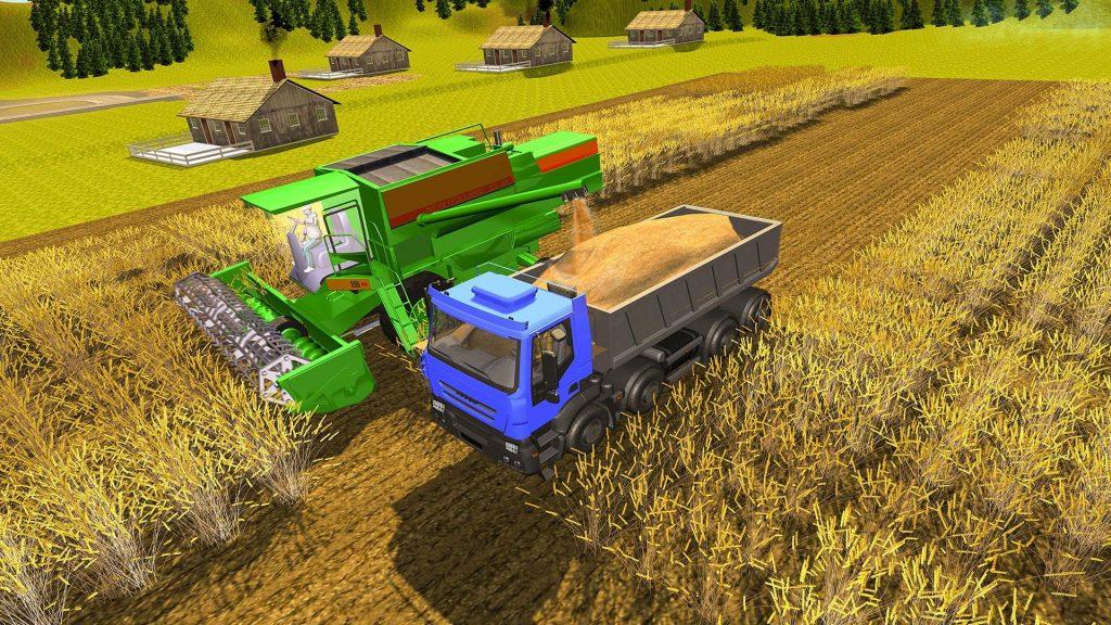 урожай в Farming Simulator