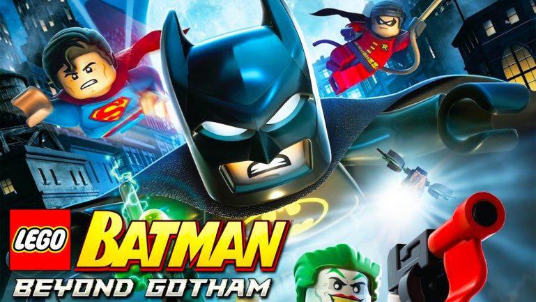 LEGO Batman Покидая Готэм