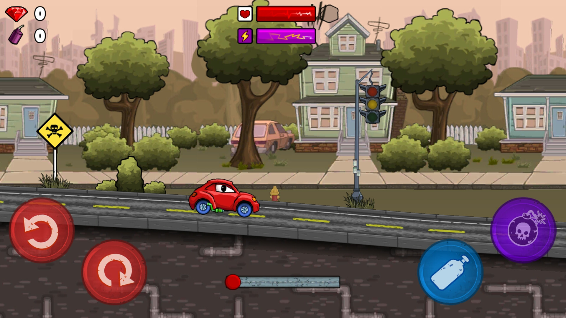 скачать взломанную игру car eats car 2