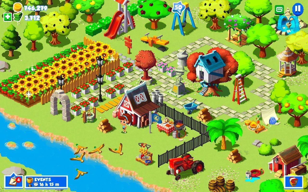 скачать взломанную игру зеленая ферма 3