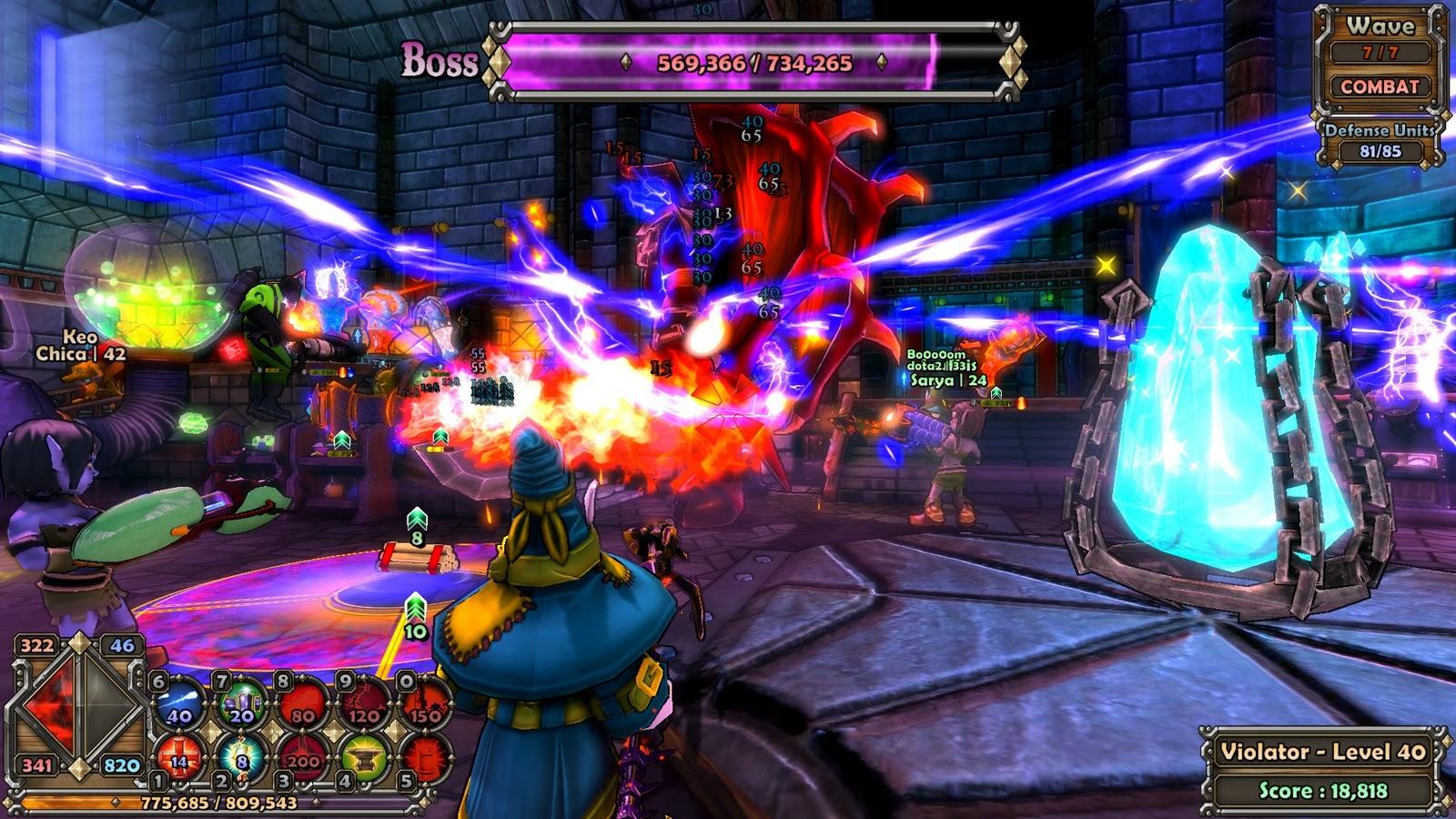 скачать dungeon defenders