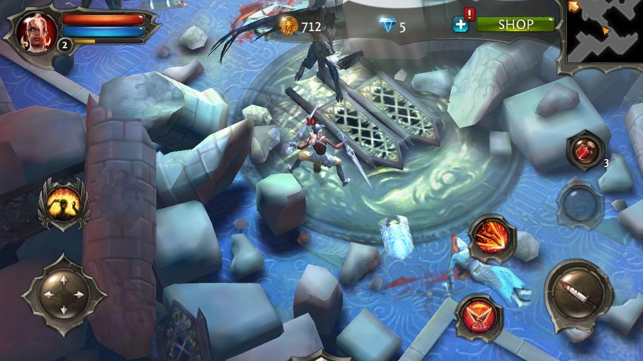 скачать dungeon hunter 4 на андроид