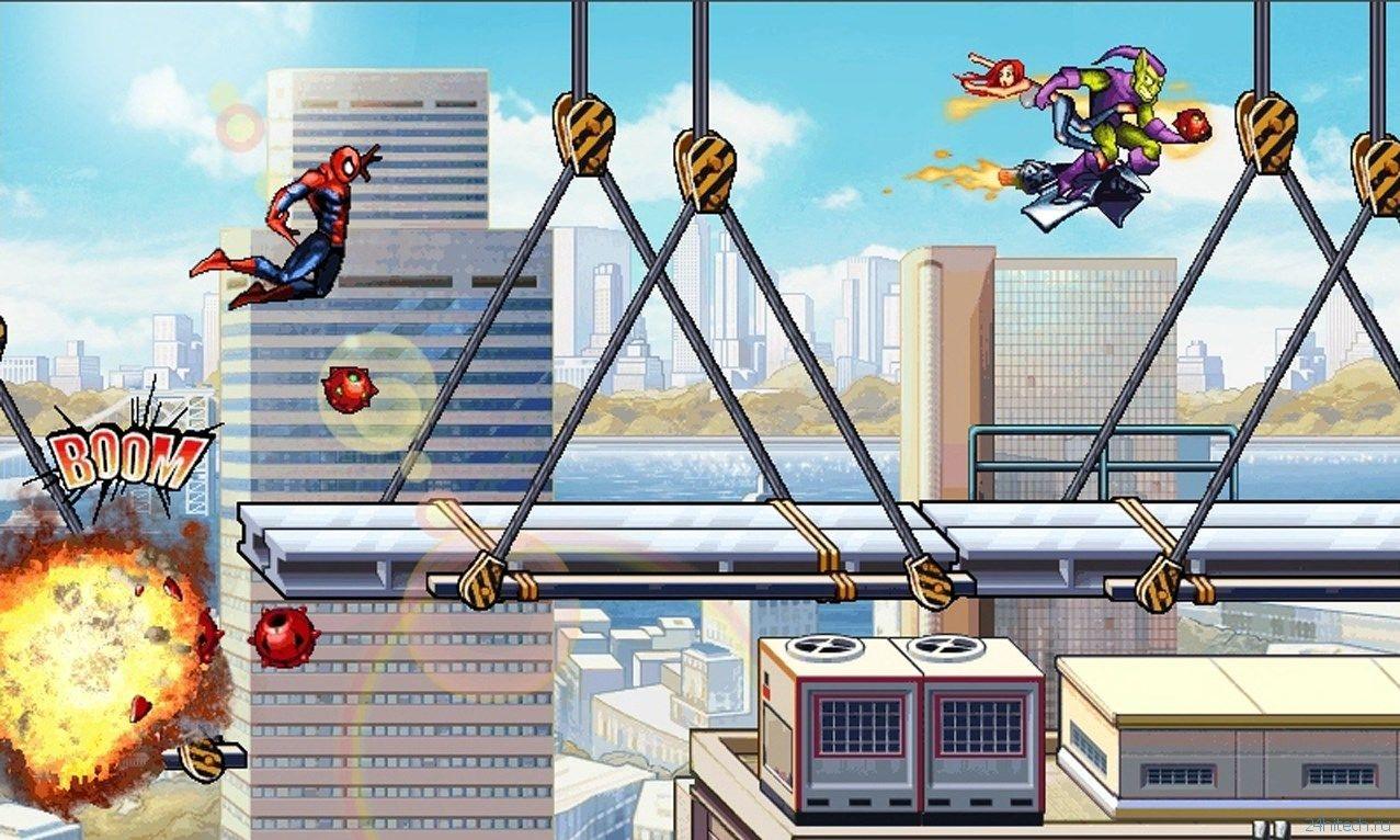 скачать человек паук невероятная сила