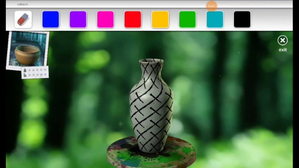 ваза в Let's Create! Pottery 2