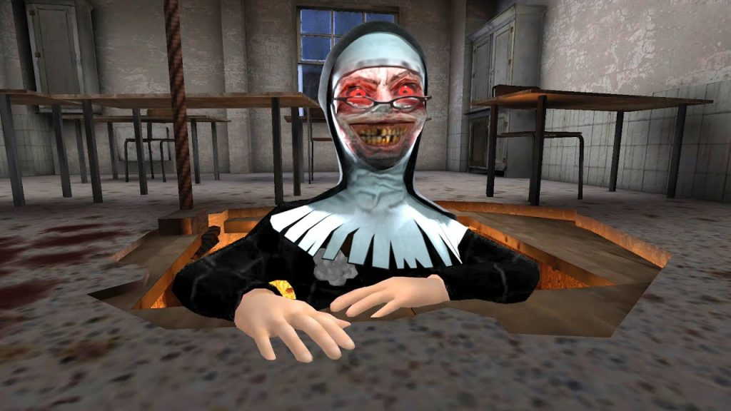 монахиня Evil Nun