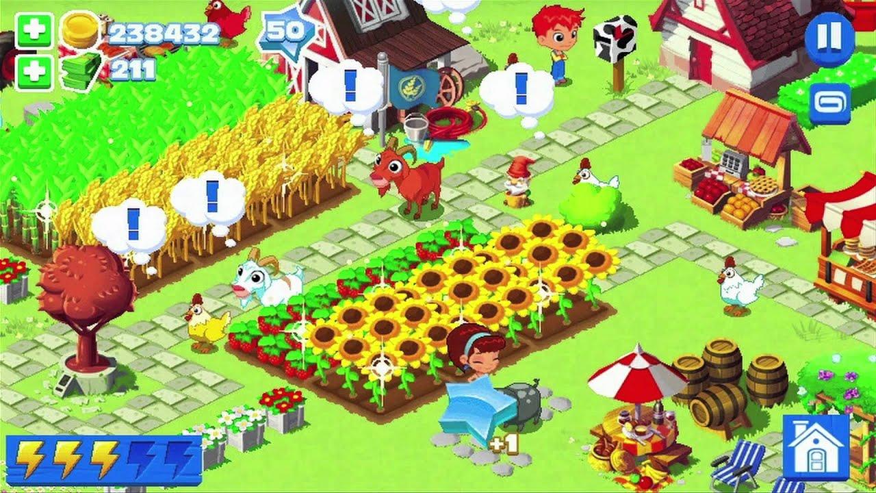 скачать взлом зеленая ферма 3