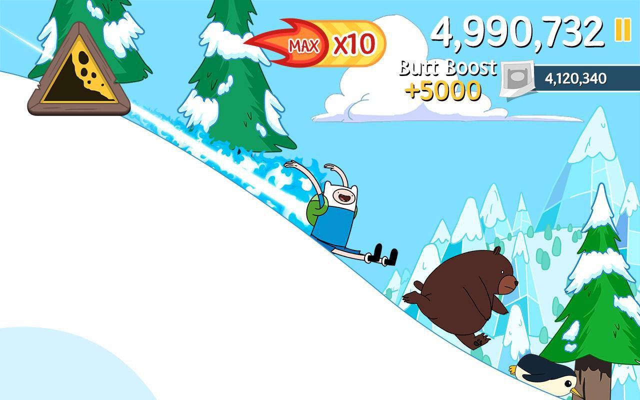 скачать ski safari adventure time