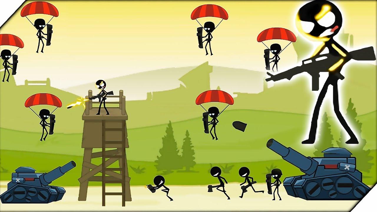 серия игр Stickman для андроид