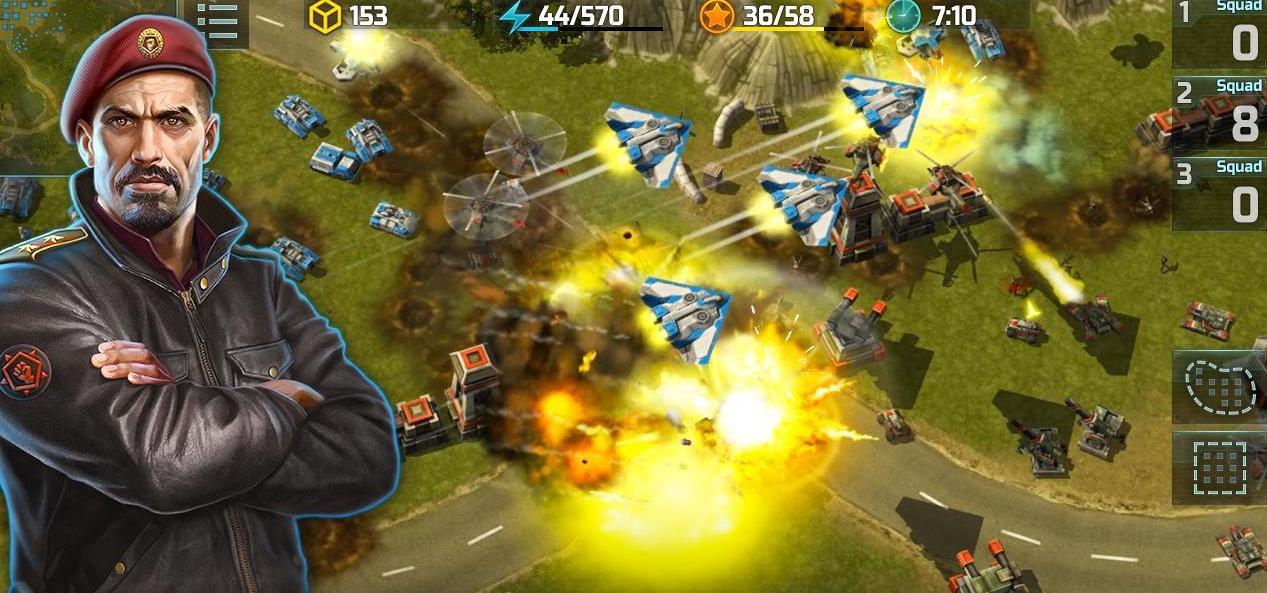 игра Art of War 2 для Андроид