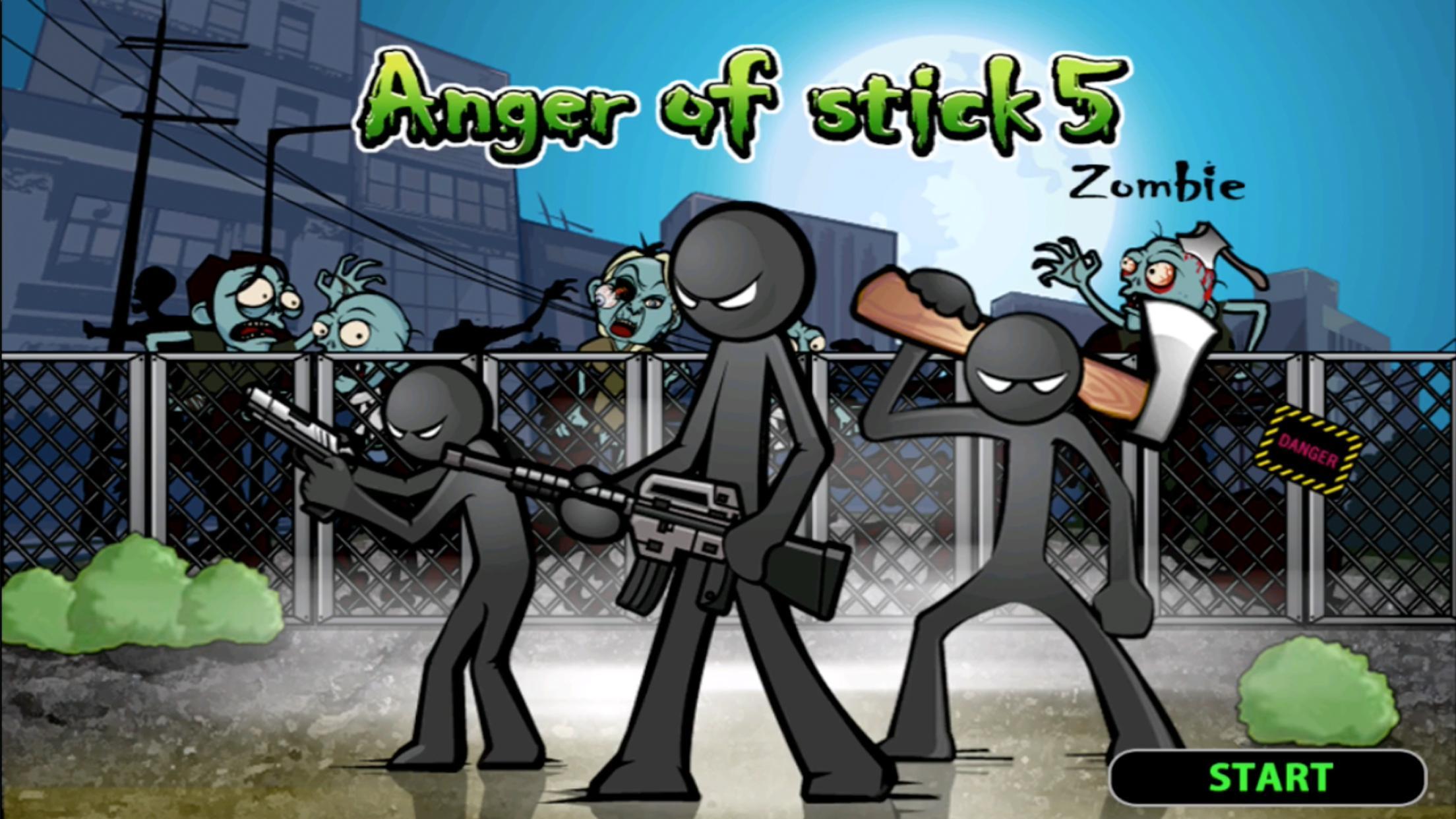 Игра для Андроид Anger of stick 5