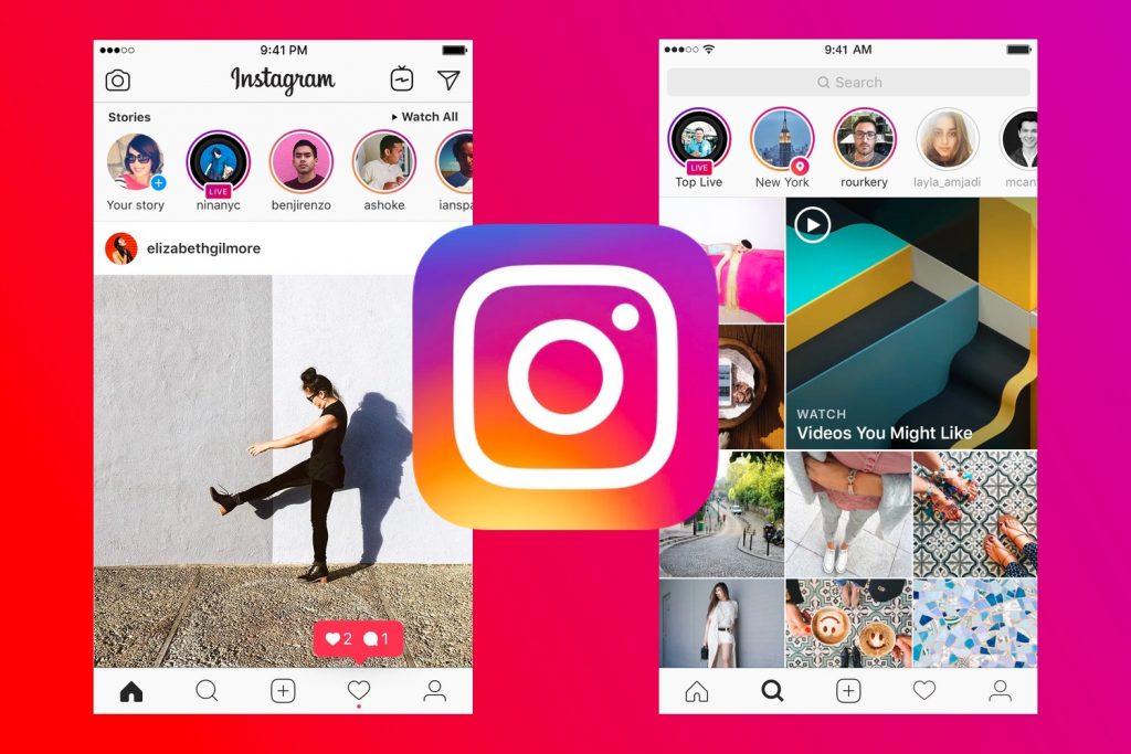 обзор приложения Instagram