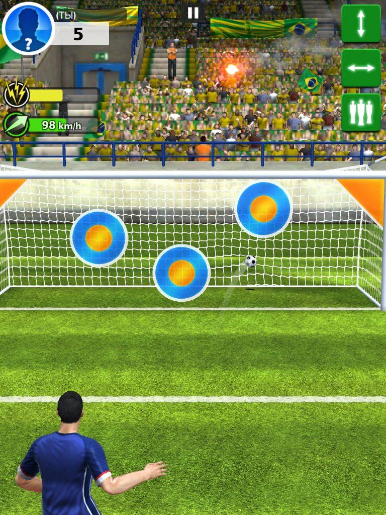 скачать взломанный футбол