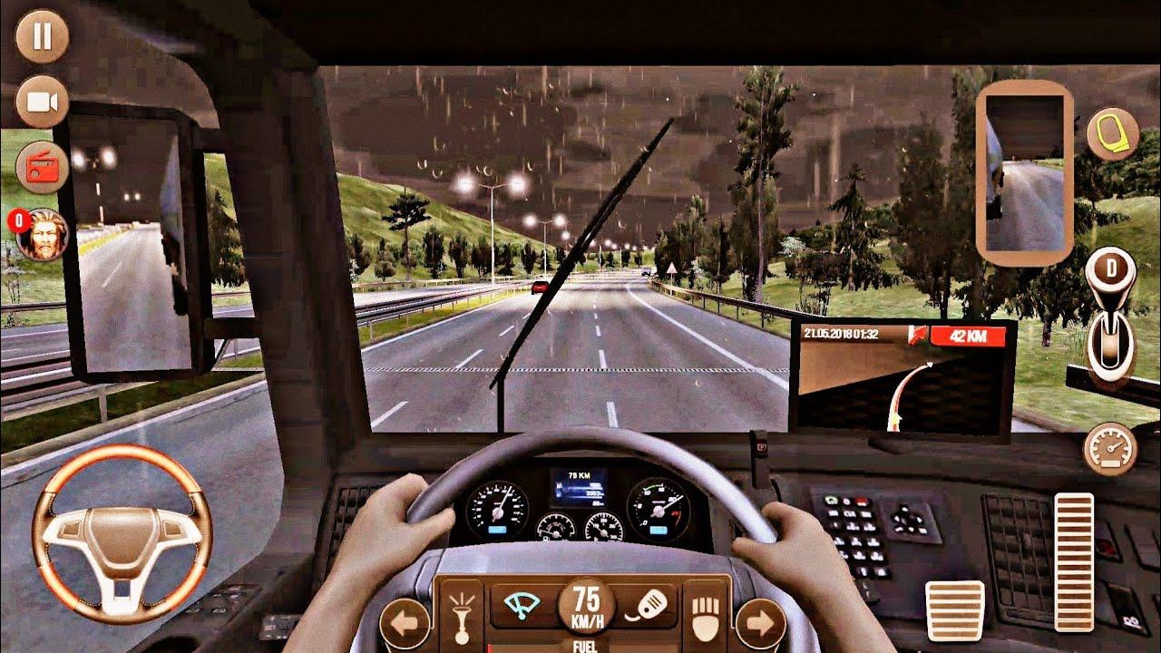 скачать грузовик симулятор 2018 европа