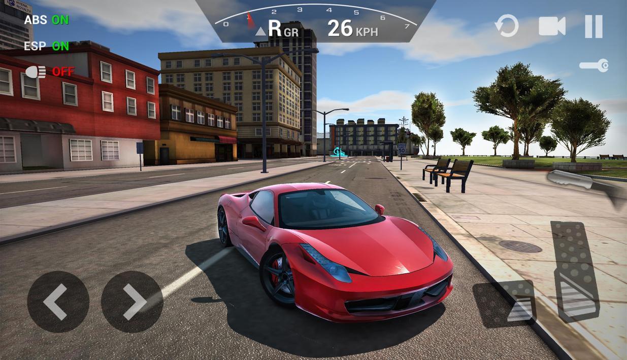 скачать взломанную игру ultimate car driving simulator
