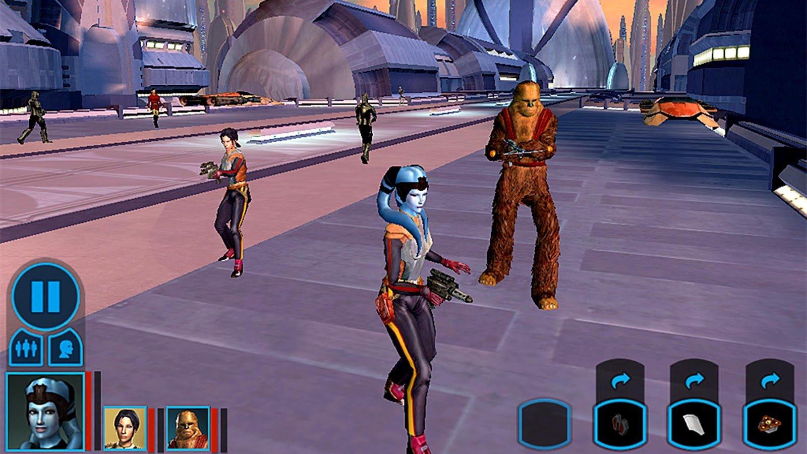 скачать star wars kotor на андроид