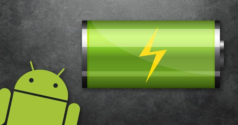 зарядка батареи на Андроид