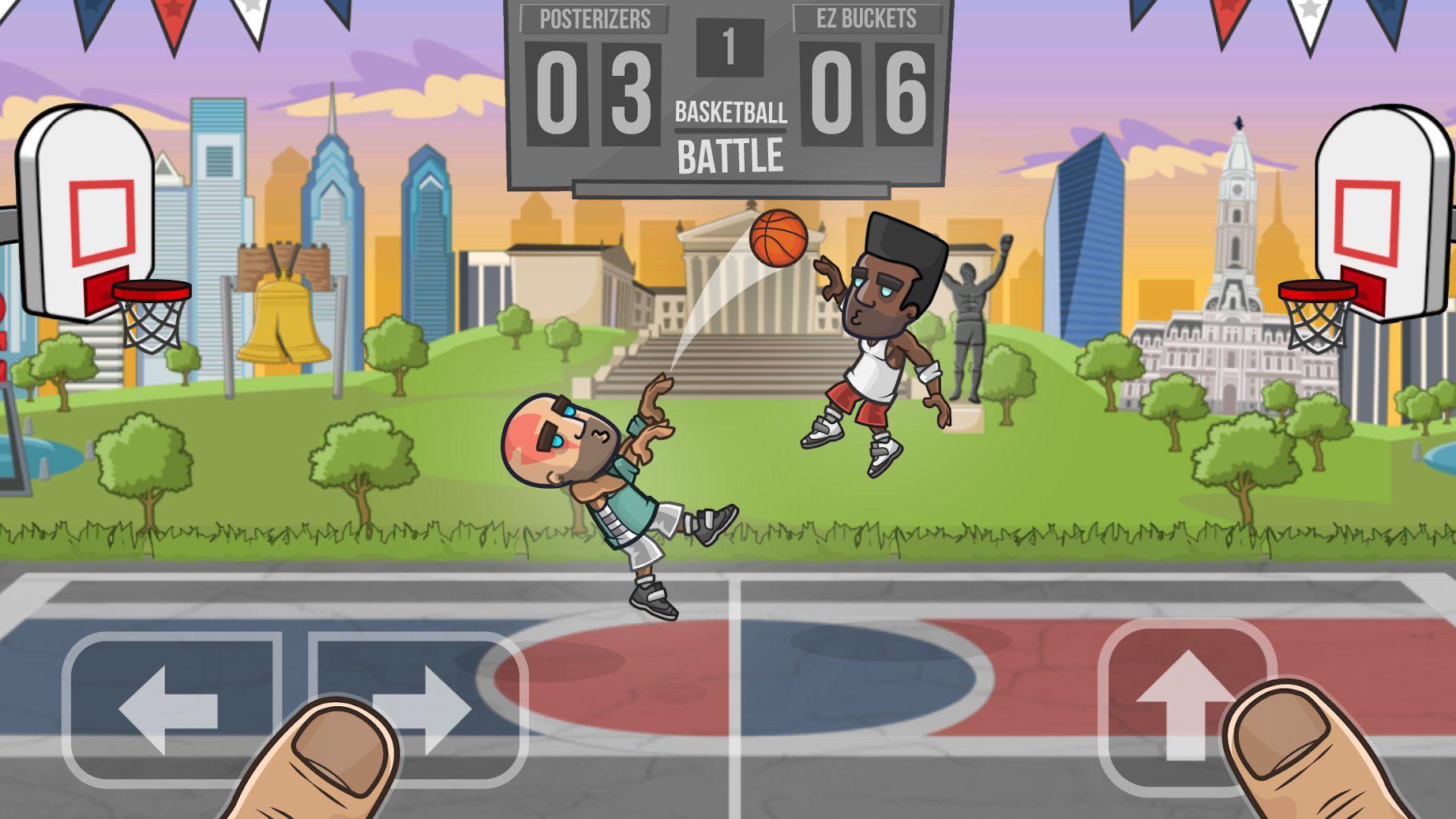 скачать взлом basketball battle