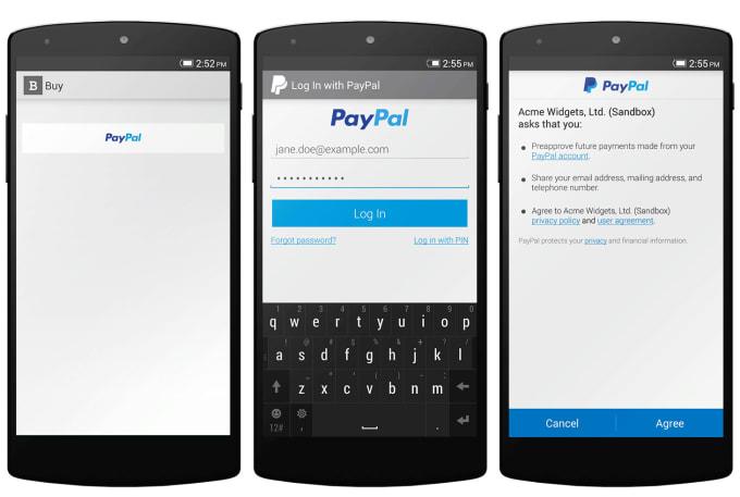 paypal скачать на андроид