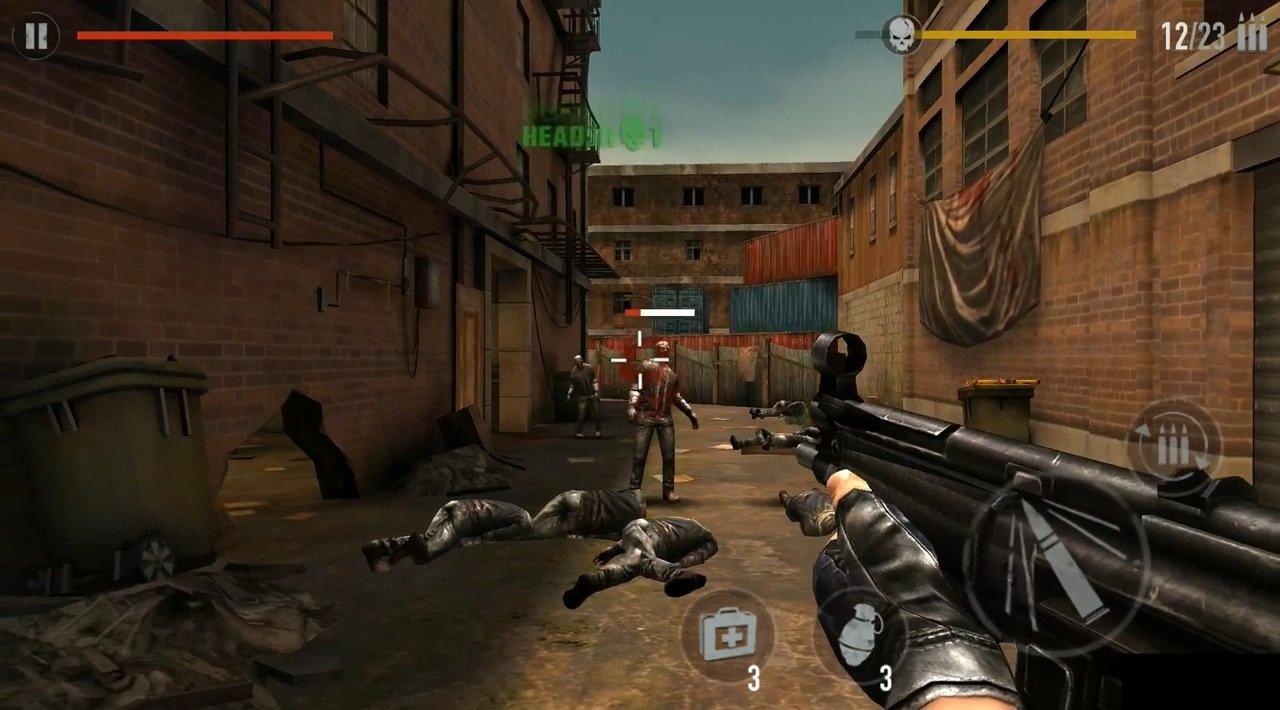 скачать взломанную игру отстрел зомби