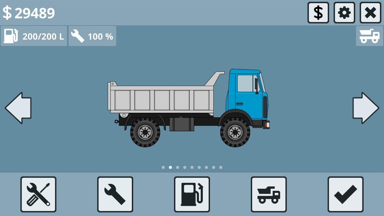 скачать взломанную игру mini trucker