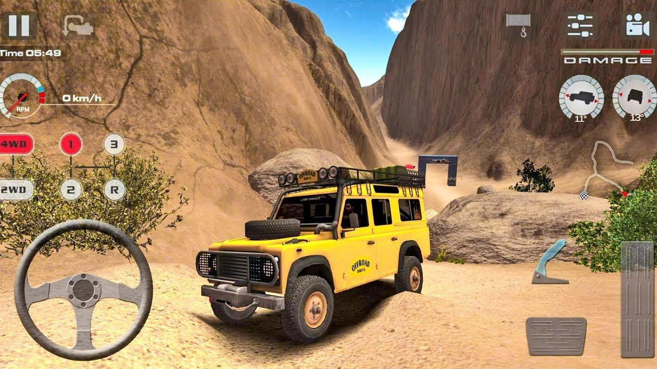 offroad drive desert скачать