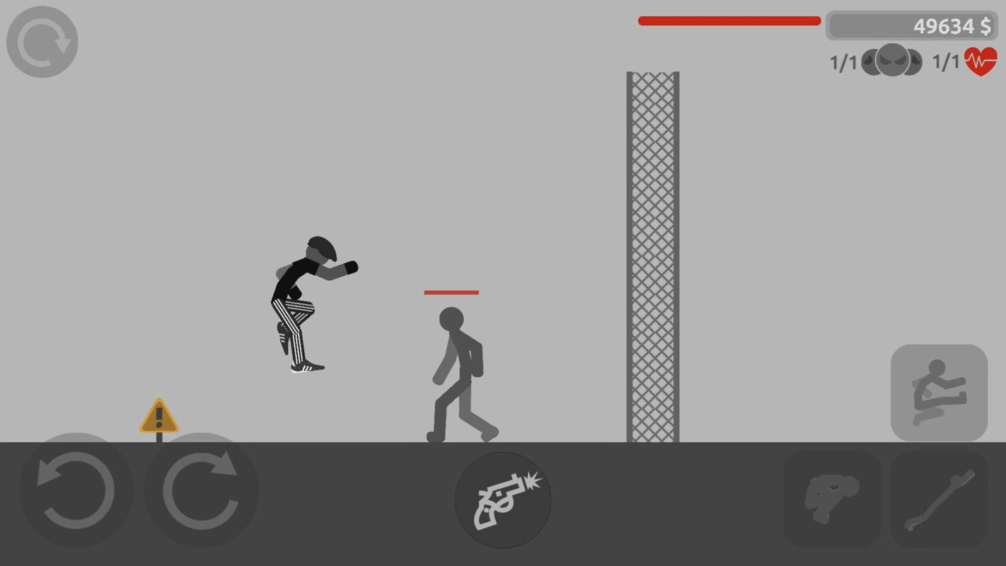 stickman backflip killer 4 взлом