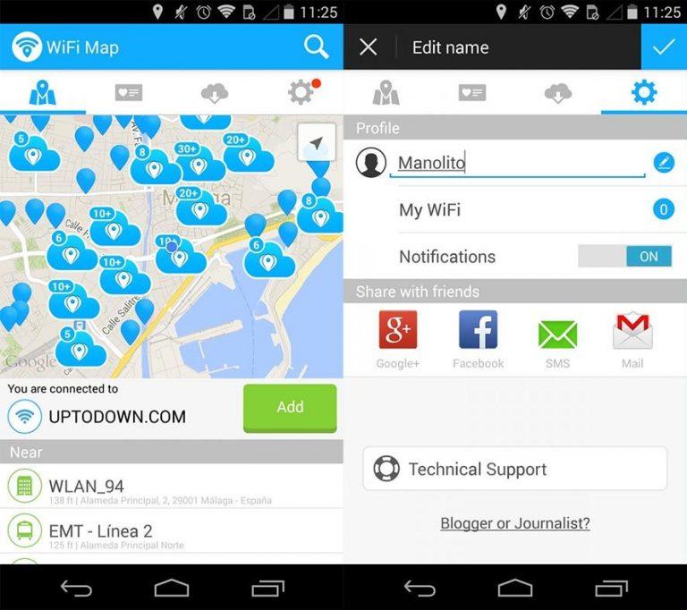 wifi map pro скачать