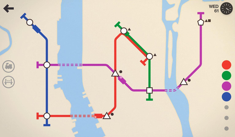 скачать mini metro