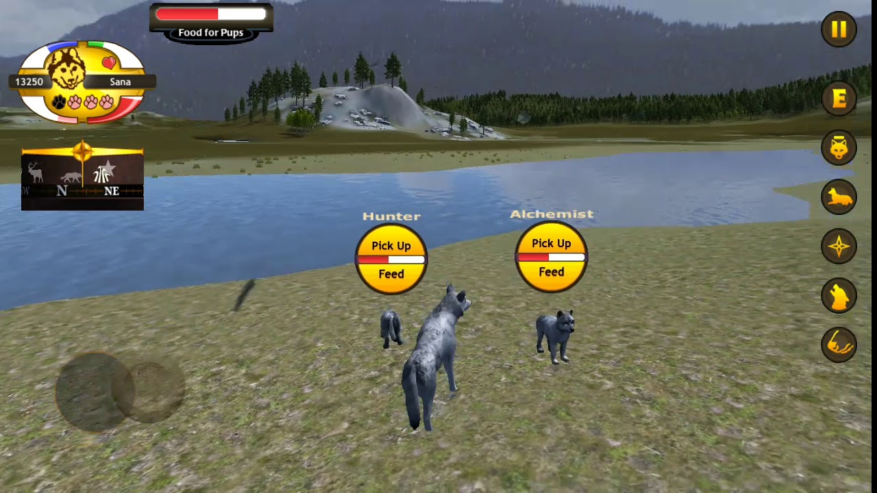 скачать игру wolfquest