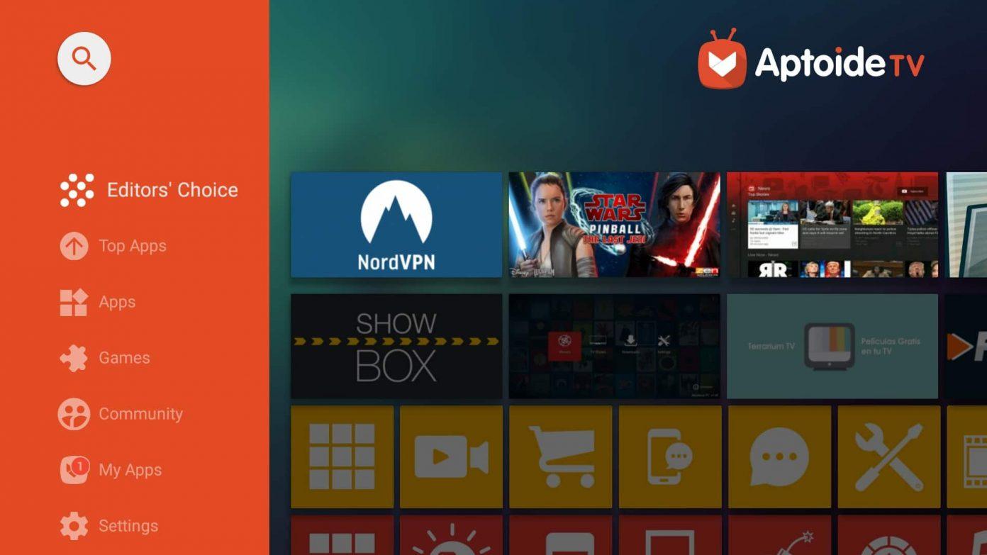 aptoide tv для андроид тв приставки