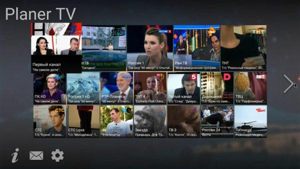 planer tv