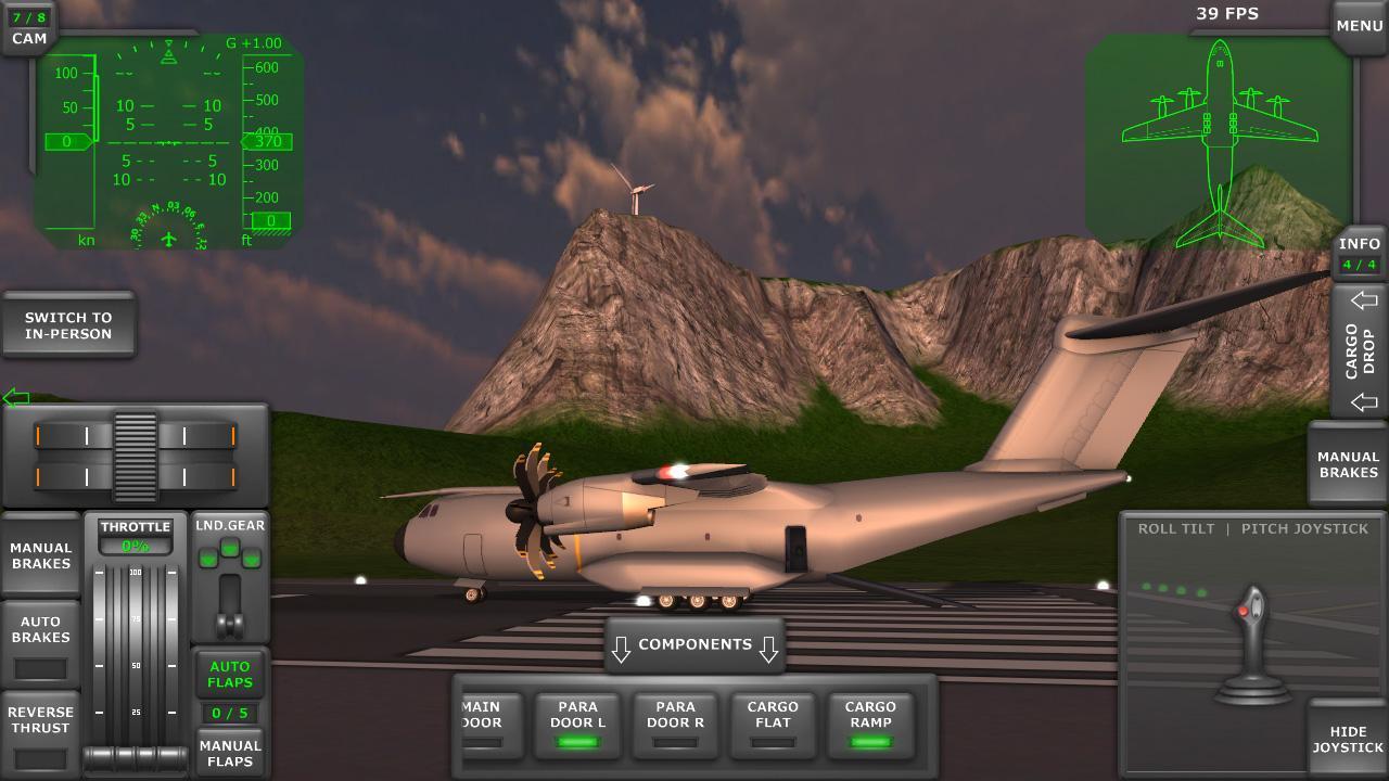 turboprop flight simulator