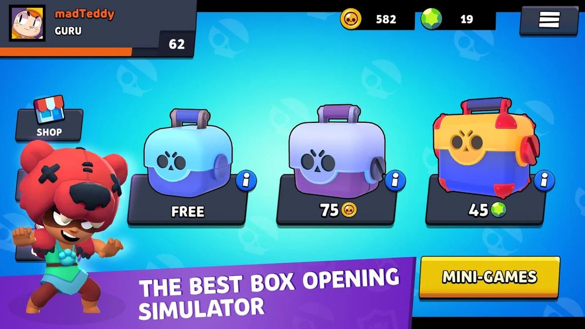 box simulator for brawl stars скачать взлом