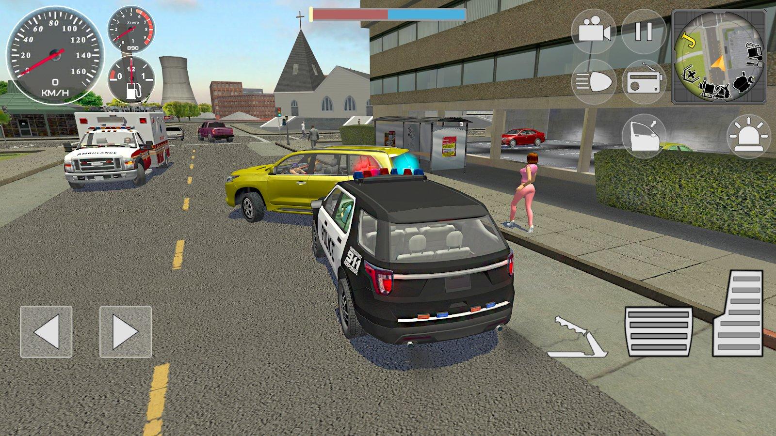 симулятор полицейского война банд