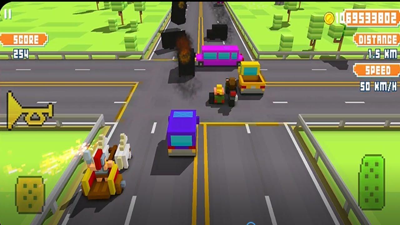 взлом blocky highway