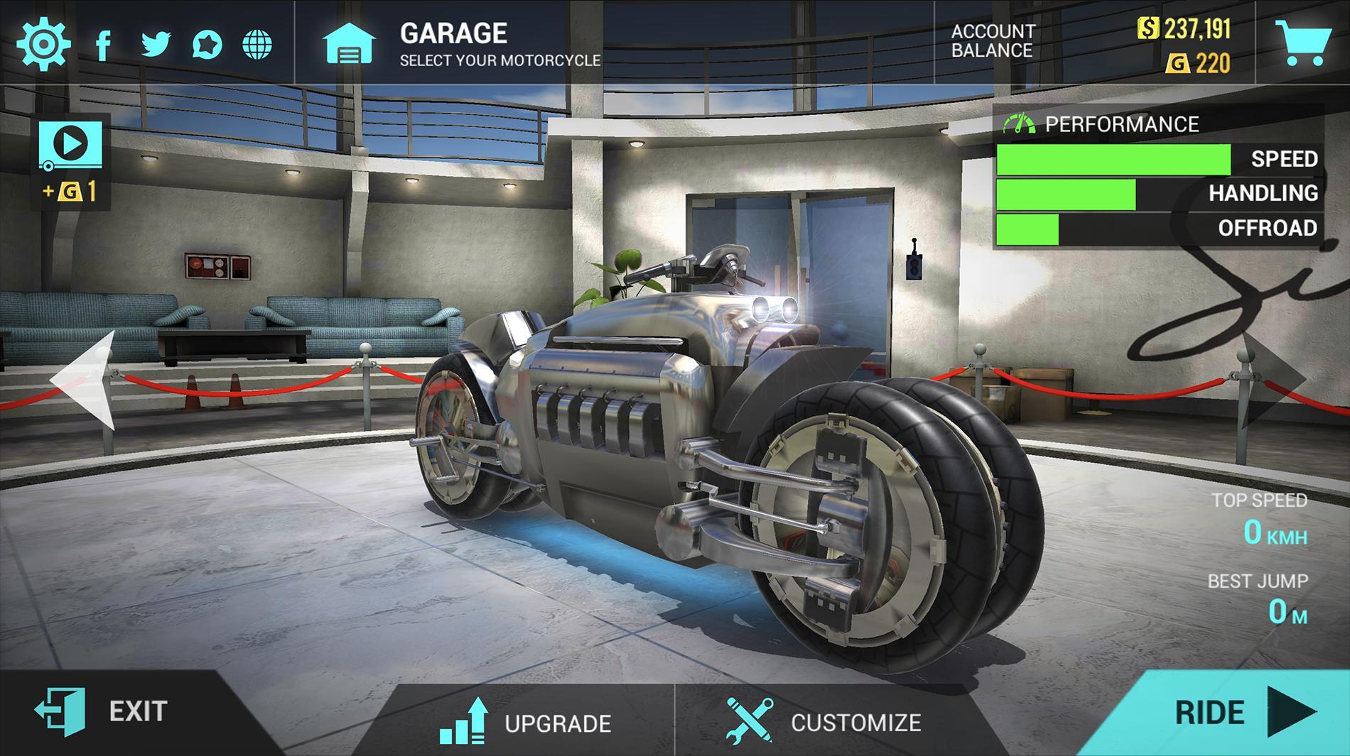 скачать ultimate motorcycle simulator взлом