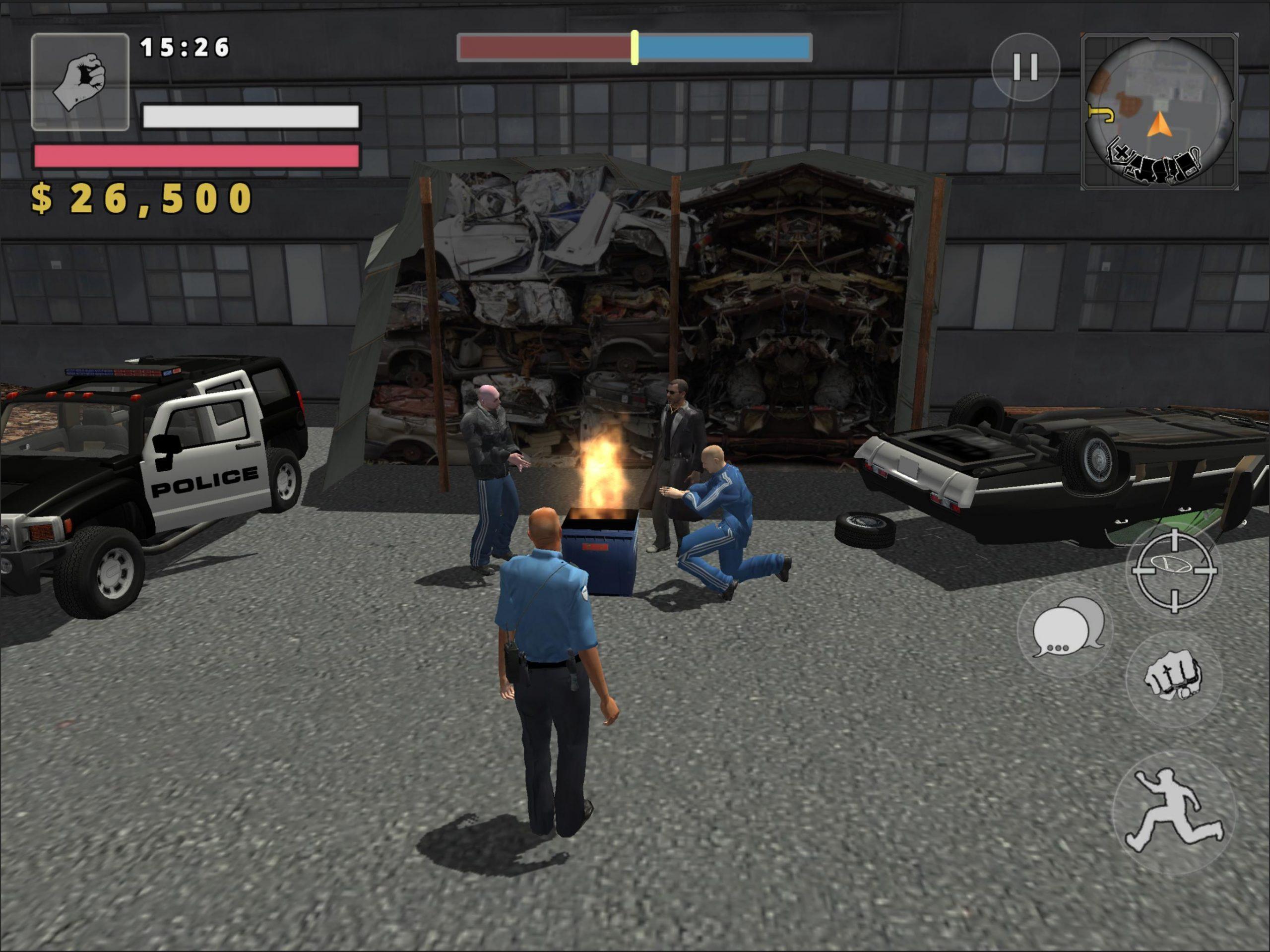 симулятор полицейского война банд скачать