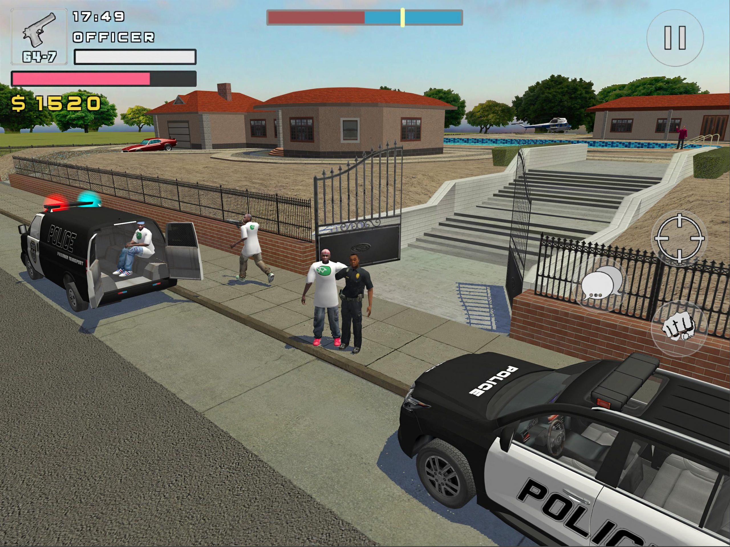 симулятор полицейского война банд скачать взлом