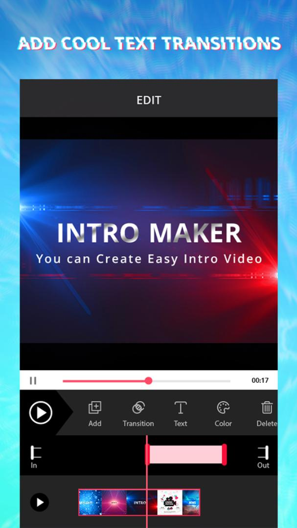 intro maker vip скачать на андроид