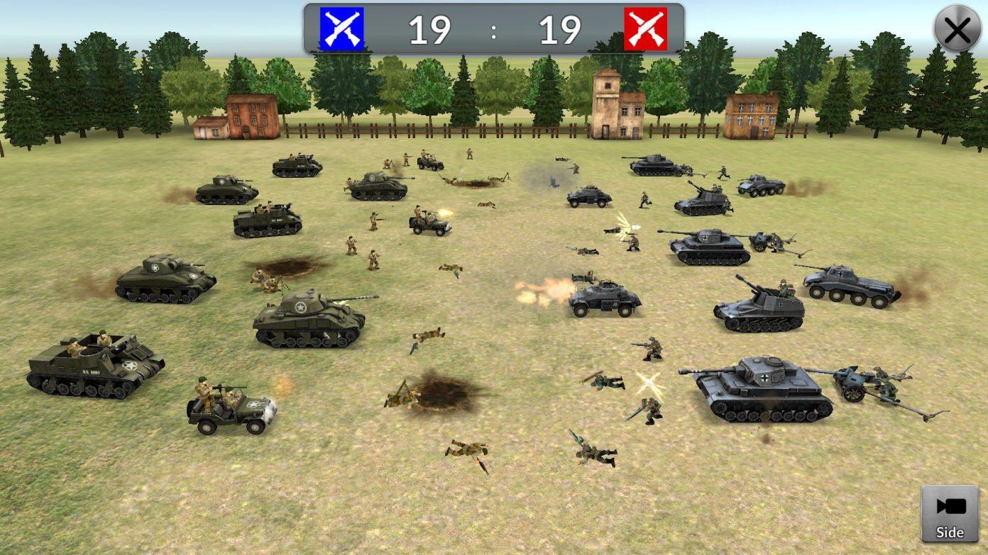 ww2 battle simulator мод много денег