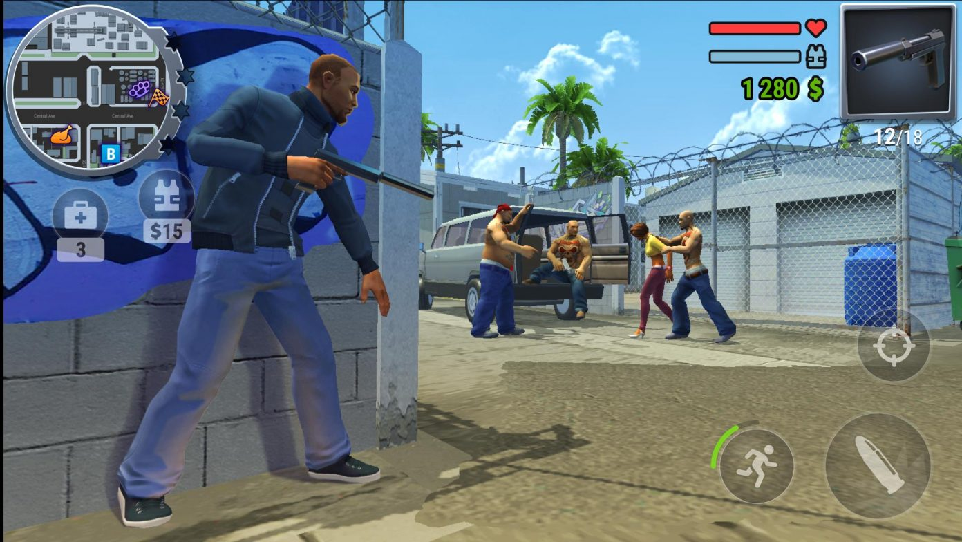 скачать gangs town story на андроид
