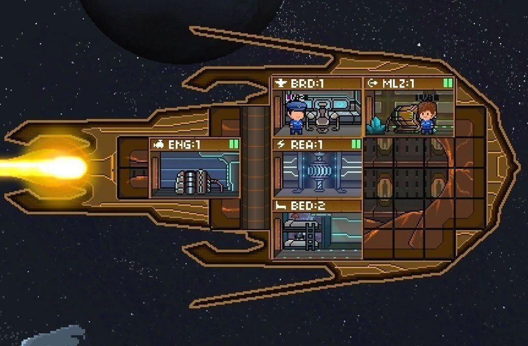 pixel starships мод
