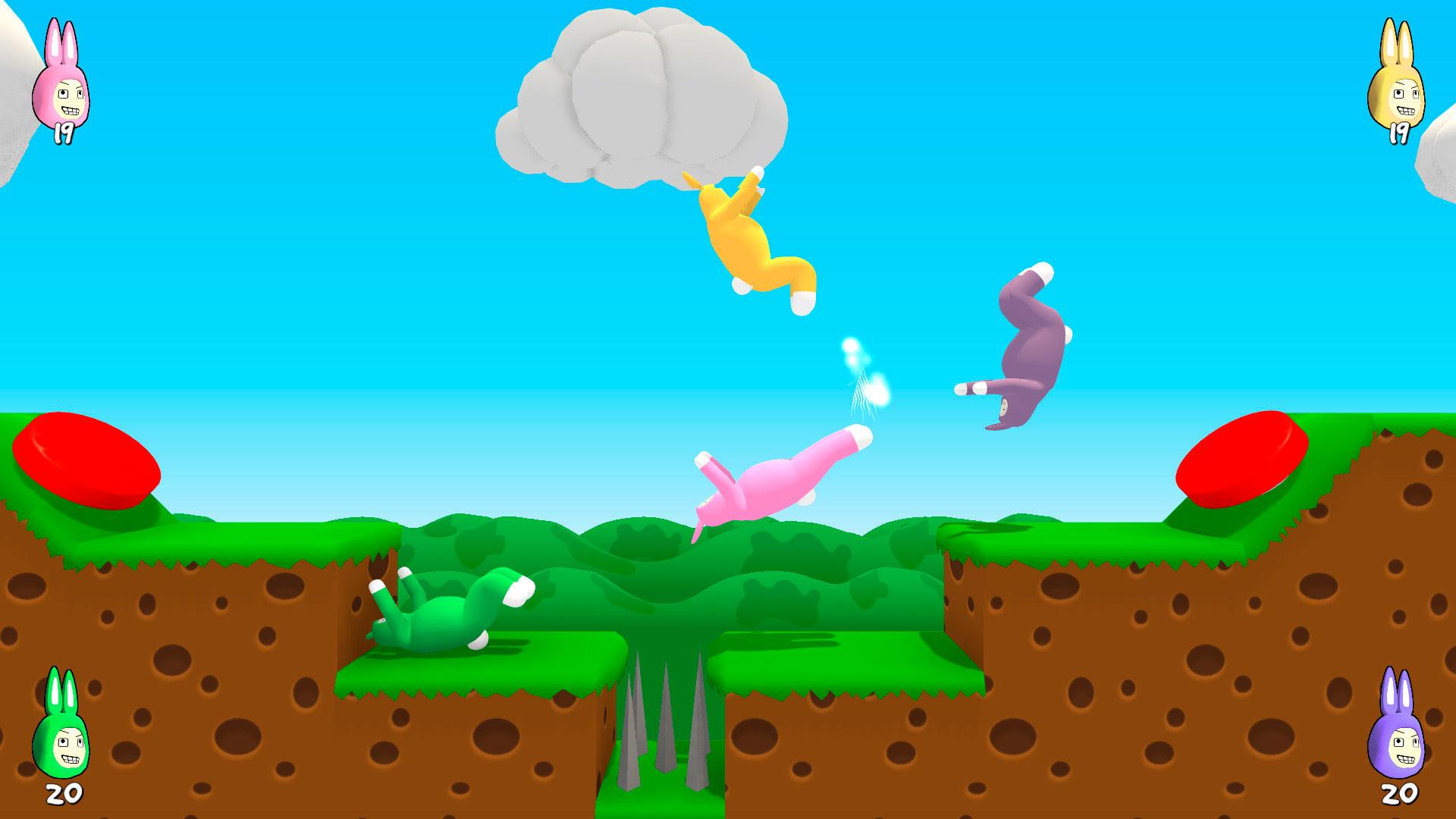 super bunny man играть