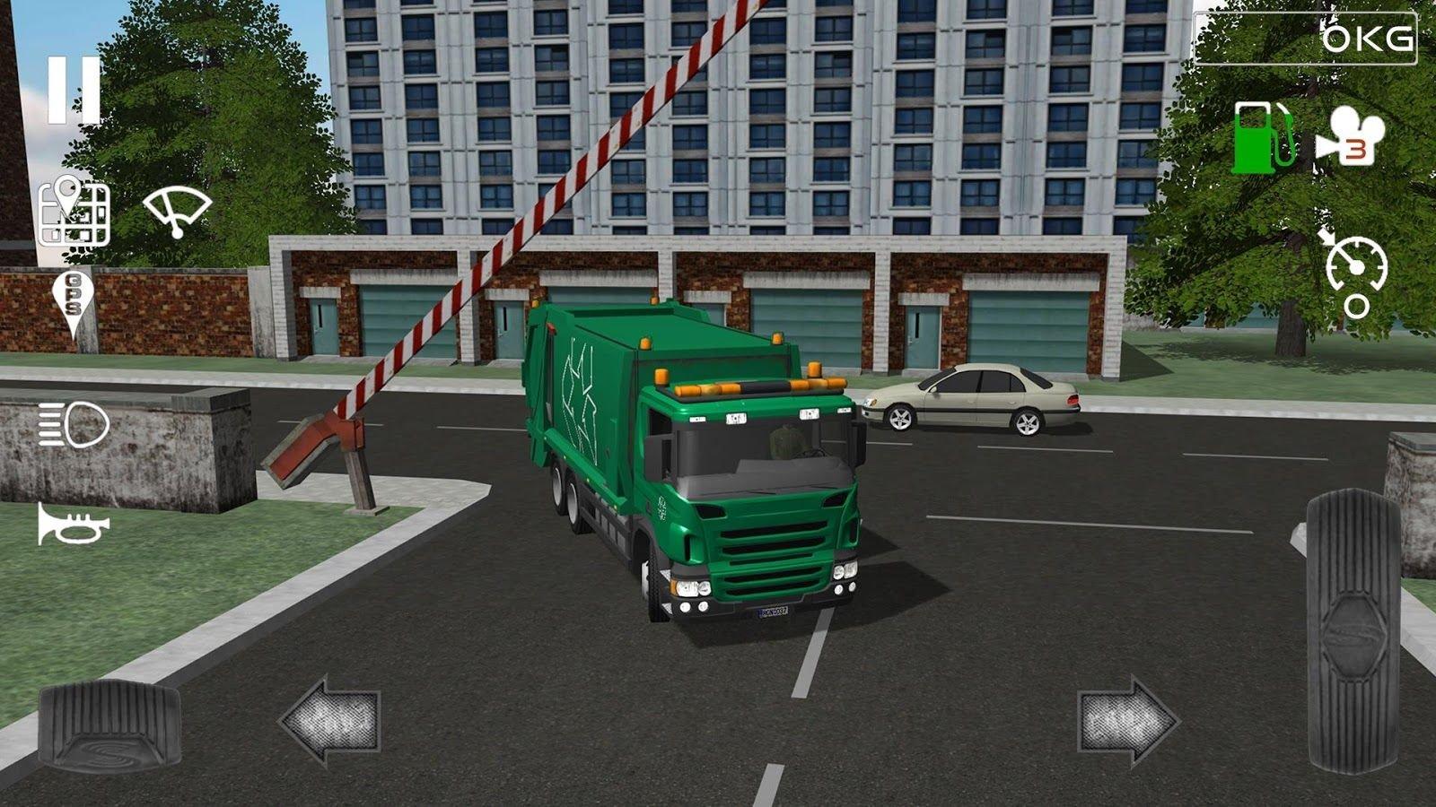 trash truck simulator скачать