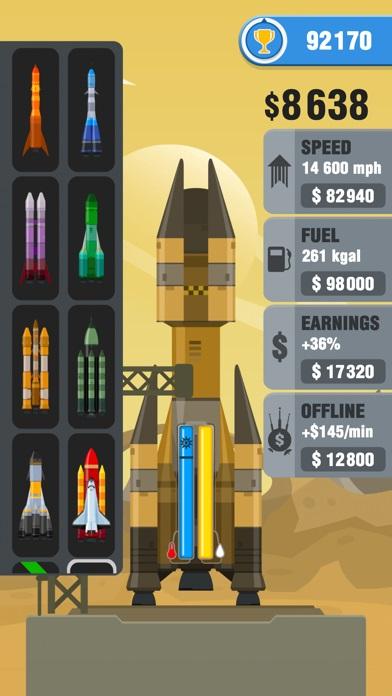 rocket sky много денег