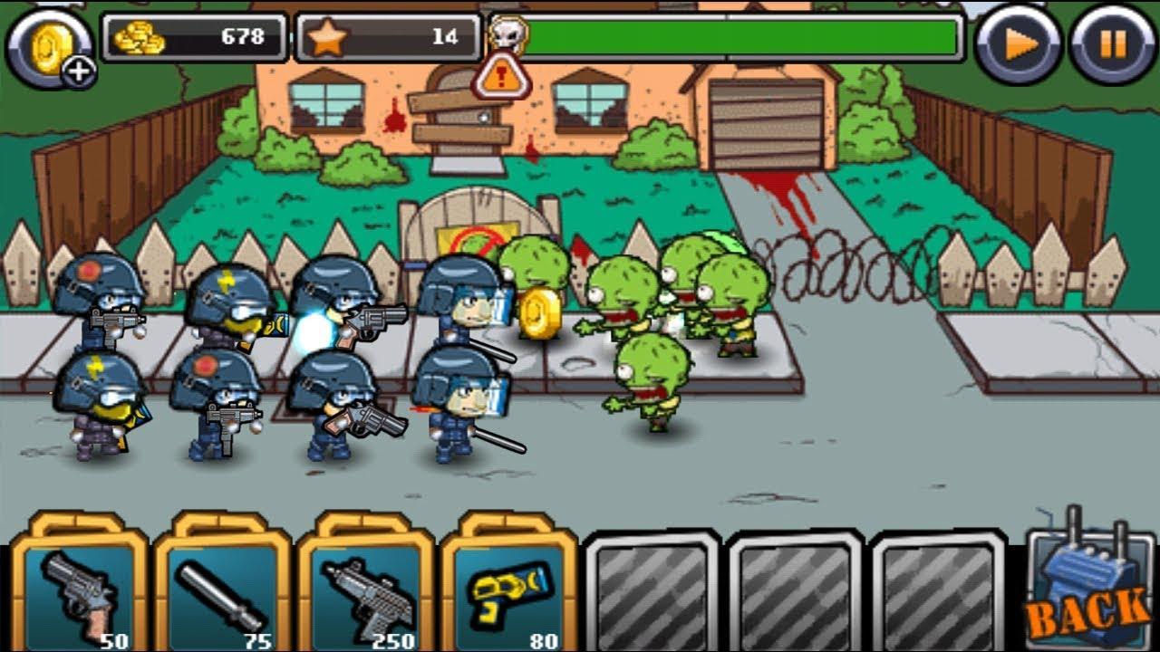 скачать взломанную игру swat и zombies