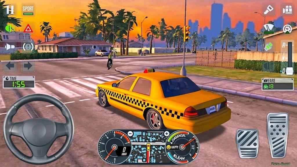 taxi sim 2020 скачать