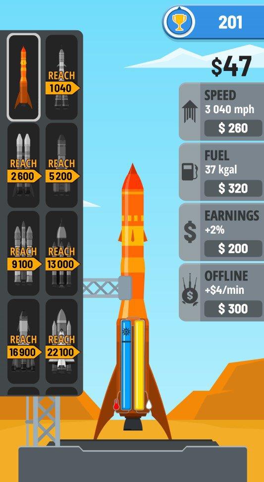 скачать взлом rocket sky