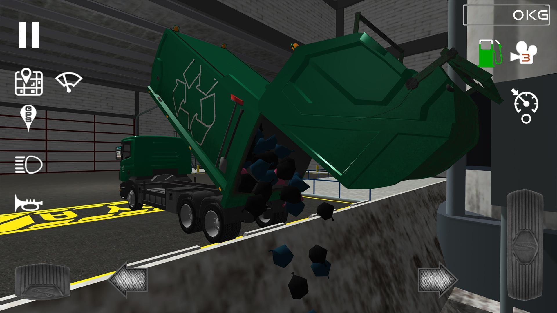 скачать trash truck simulator мод много денег