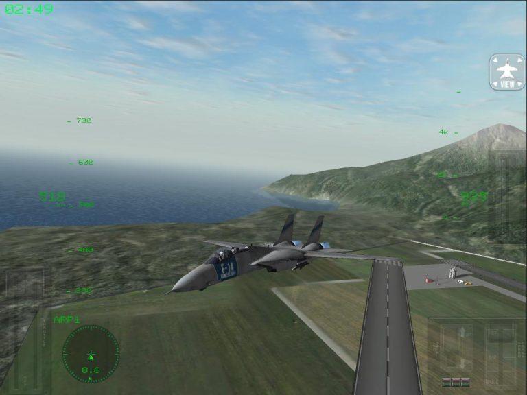 f18 carrier landing pro скачать
